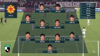 先発メンバー|2020 J2 第4節 岡山 vs. 北九州