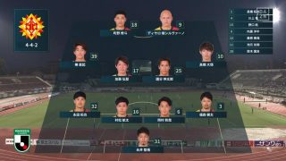 先発メンバー|2020 J2 第10節 草津 vs. 北九州