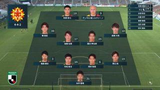 先発メンバー|2020 J2 第8節 北九州 vs. 徳島
