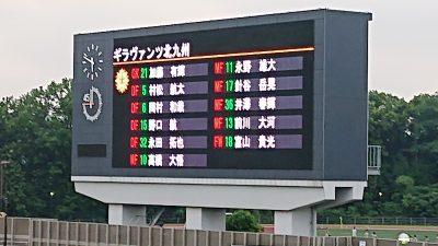 先発メンバー|2021年J2リーグ 第21節 相模原 vs. 北九州