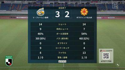試合結果|長崎 3-2 北九州