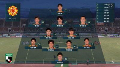 先発メンバー|2021年J2リーグ 第25節 愛媛 vs. 北九州