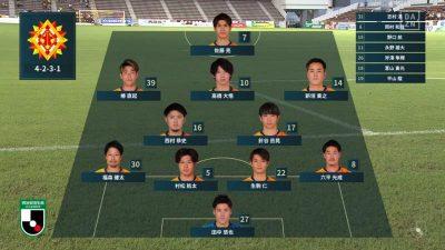 先発メンバー|2021年J2リーグ 第24節 北九州 vs. 琉球